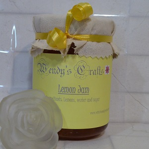 Lemon Jam at Wendy's Crafts
