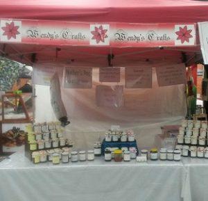 Wendy's Wollongong Market stall