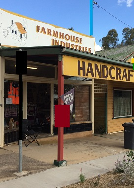 Farmhouse Industries shop at Tarcutta