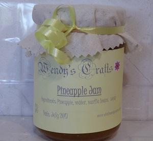 Recipe for Pineapple Jam