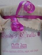 Wendy's Savoury Chilli Jam