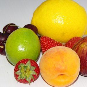 Summer fruit for jam