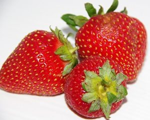 Strawberries for Wendy's Jam