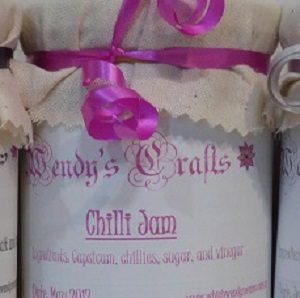 Chilli Jam made by Wendy's Crafts