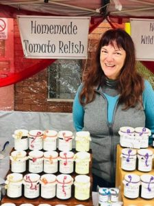Wendy and her Market Stall