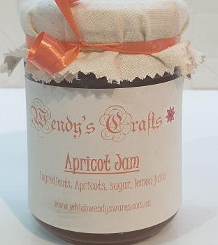 Homemade Apricot Jam by Wendys Crafts