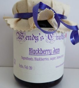 Homemade Blackberry Jam by Wendys Crafts