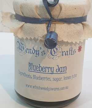 Homemade Blueberry Jam by Wendys Crafts