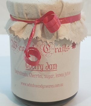 Homemade Cherry Jam by Wendys Crafts