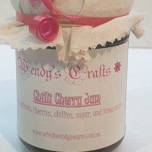 Homemade Chilli Cherry Jam by Wendys Crafts