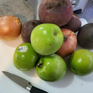 Ingredients for Beetroot Relish