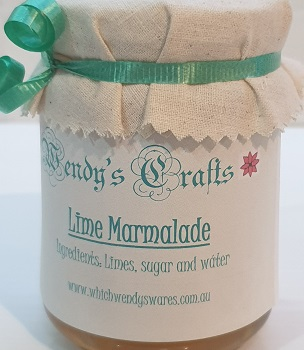 Homemade Lime Marmalade by Wendys Crafts