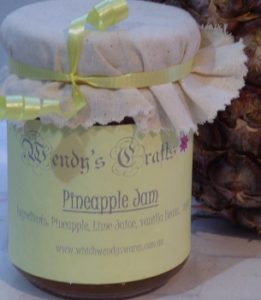 Homemade Pineapple Jam by Wendys Crafts