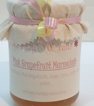 Homemade Pink Grapefruit Marmalade by Wendys Crafts