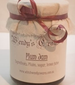 Homemade Plum Jam by Wendys Crafts