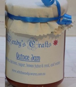 Homemade Quince Jam by Wendys Crafts