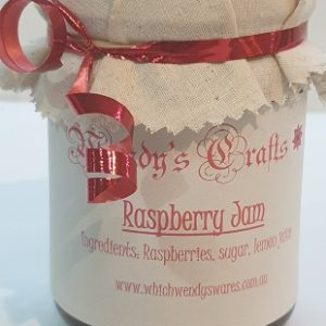 Homemade Raspberry Jam by Wendys Crafts