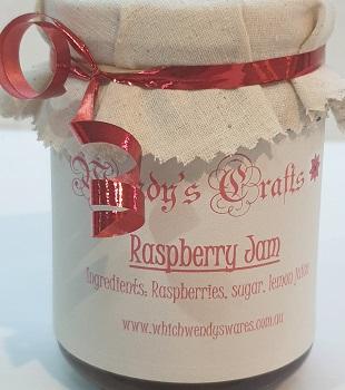 Homemade Raspberry Jam by Wendys Crafts