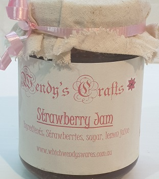 Homemade Strawberry Jam by Wendys Crafts