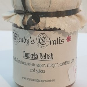 Homemade Tomato Relish by Wendys Crafts